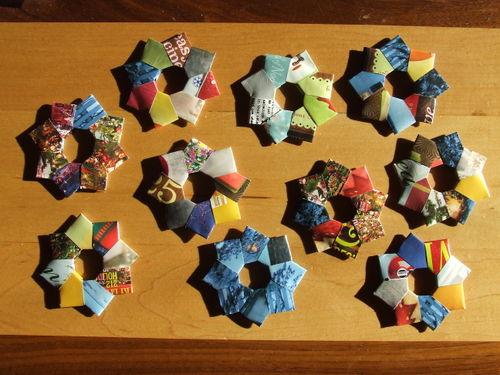 FoldedPaperWreaths