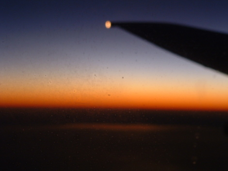 Sunsetfromplane
