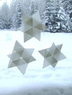 Winterfoldedstars