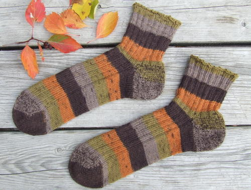 C's Fall Socks