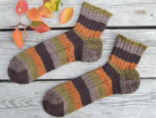 C's Fall Socks
