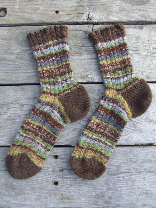 c's summer-into-fall socks