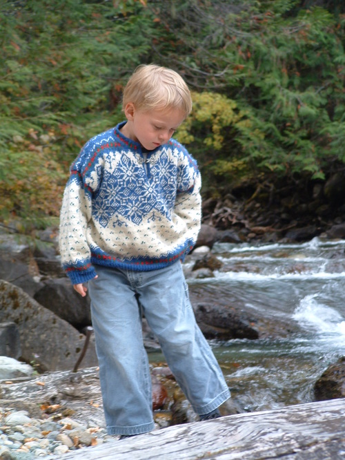R's Norwegian sweater