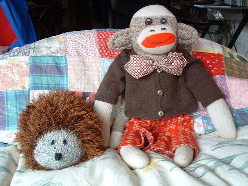 Hedgie & Mr. Monkey