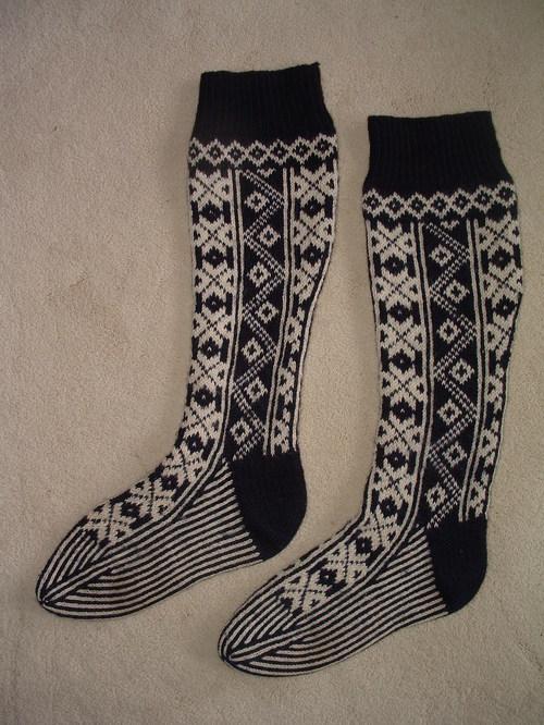 Dad's X-Country Ski Stockings