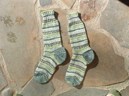 Kristy's Opal Socks
