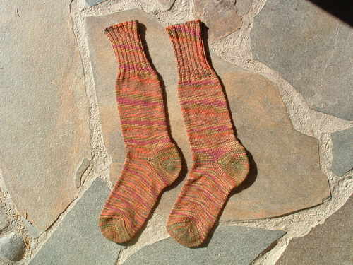 Peggy Jane's Gold Hill Socks