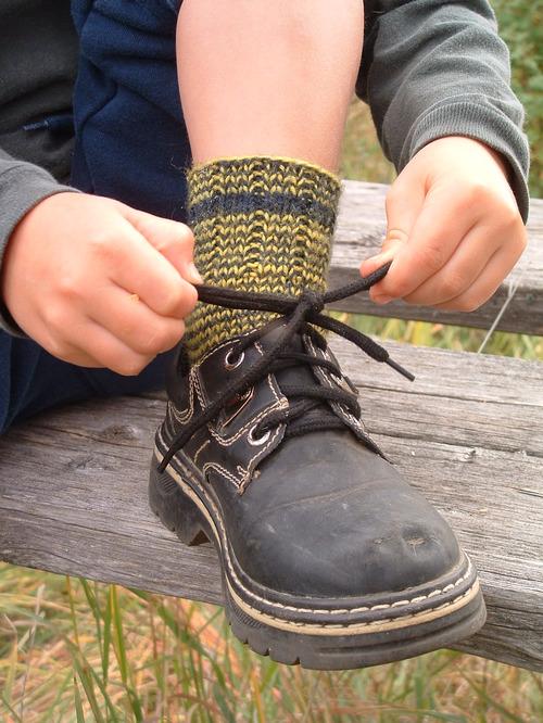 Yellow Jacket Socks