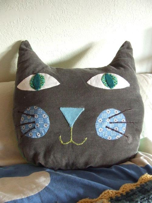 E's Cat Pillow